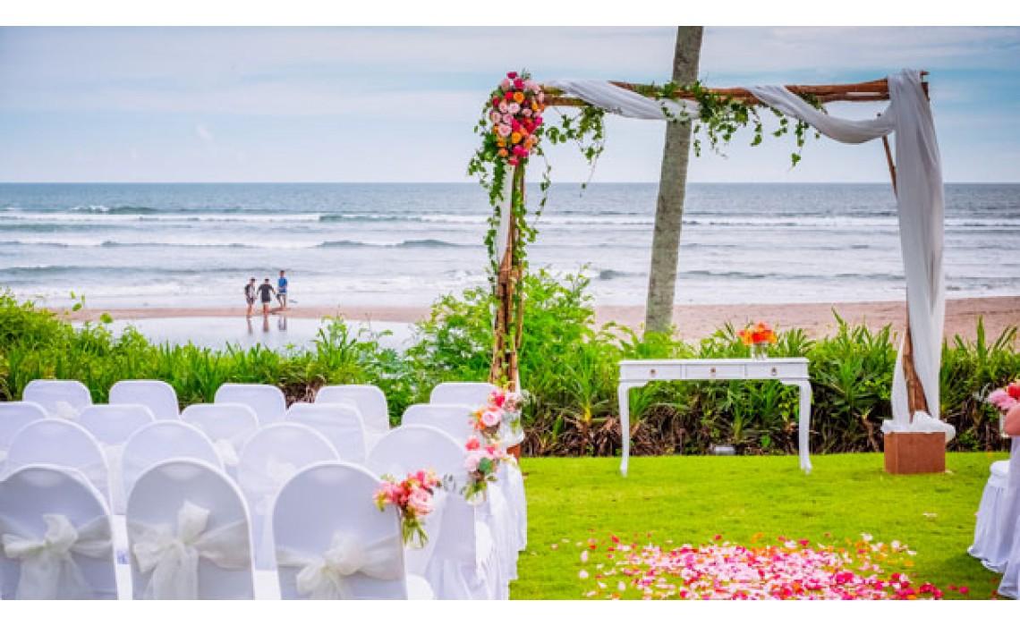 Arrangements for a wedding