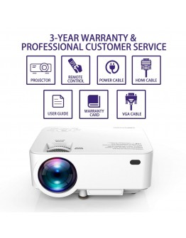 Crenova 1200 lumens portable video projector