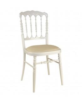 Chair mod. Parisian white in resin